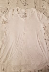 Faded Glory Tops - White Maternity T-shirt
